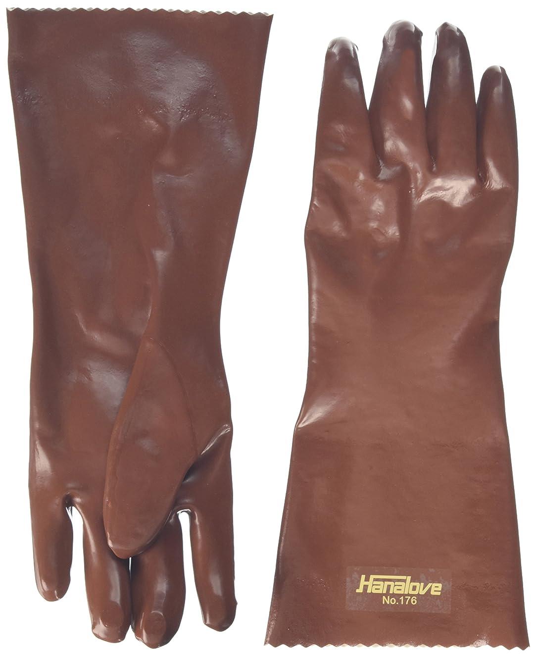 ために解決十代ハナキゴム 耐油手袋ハナローブNo.176 1双