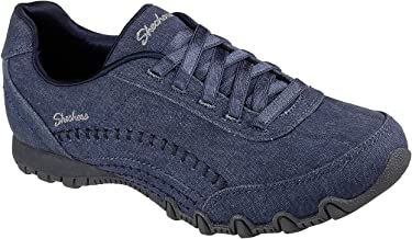 Skechers Relaxed Fit Bikers Layered Womens Slip On Sneakers