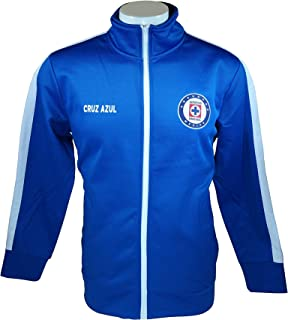 HKY Cruz Azul Men Official Soccer Track Jacket Football Adult Size 004