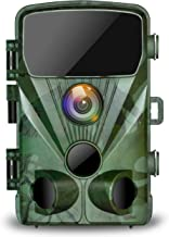 TOGUARD Trail Game Camera 20MP 1080P Hunting Cameras with Night Vision 2.4