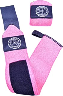 Atomic Strength Classic Wrist Wraps for Men & Women, Professional Quality, Multiple Colors, Unbeatable Wrist Support for W...