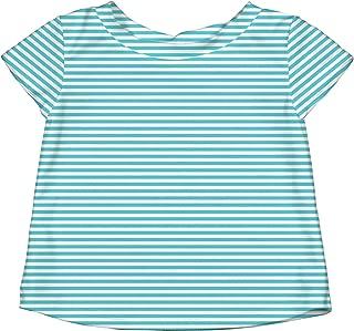I Play Baby 760153 Bebek Deniz T-Shirt, Turkuaz 18-24 ay