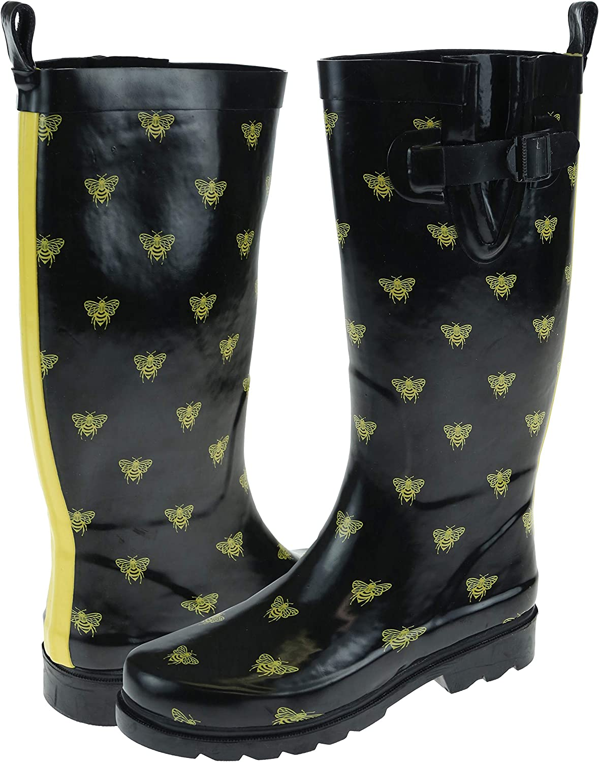 Capelli Indianapolis Mall New York Ladies Shiny Boots Rubber Rain Tall Latest item