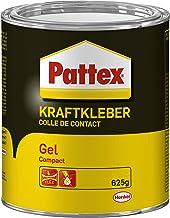 Pattex Krachtige lijm Compact, extra sterke lijm zonder druppels en draden trekken, lijm voor verticale en poreuze oppervl...