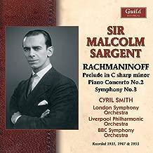 Rachmaninoff: Prelud in C sharp minor, Piano Concerto No. 2, Symphony No. 5 (Recorded 1947 & 1949)