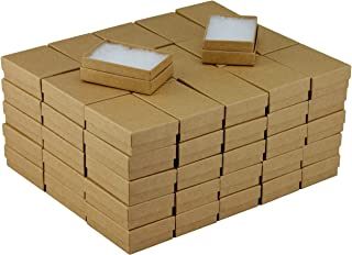 JPB Recycled Kraft Cotton Filled Jewelry Box #32 (Case of 100) 3.125 inches x 2.125 inches