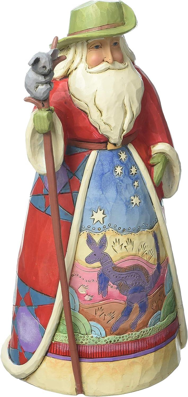 Enesco Jim Shore Heartwood Creek Gifts Fi Max 60% OFF Australian Stone Santa Resin