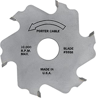 PORTER-CABLE 5558 4-Inch, 6 Tooth Plate Joiner Blade