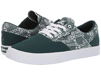 Supra Cobalt (Evergreen Print/White) Men