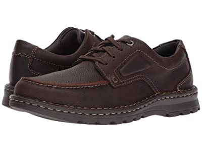 Clarks Vanek Apron (Brown Oily Leather) Men