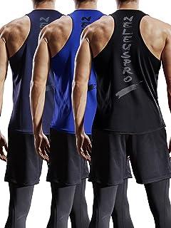 Neleus Men's Dry Fit Y-Back Muscle Workout Tank Top