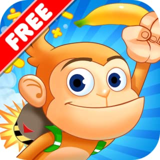 Monkey Math - Jetpack Adventure Free