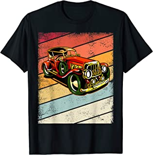 Retro Hot Rod Old School for Boys and Kids T-Shirt