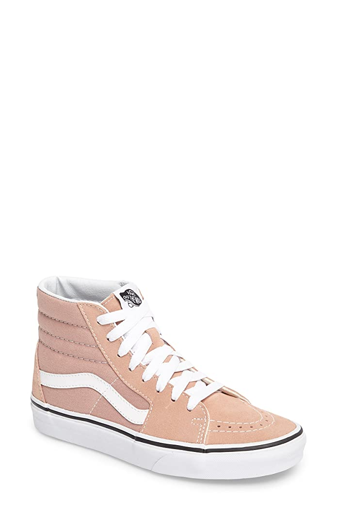 アンカーあえぎ湿地バンズ シューズ スニーカー Vans 'Sk8-Hi' Sneaker (Women) Mahogany R [並行輸入品]