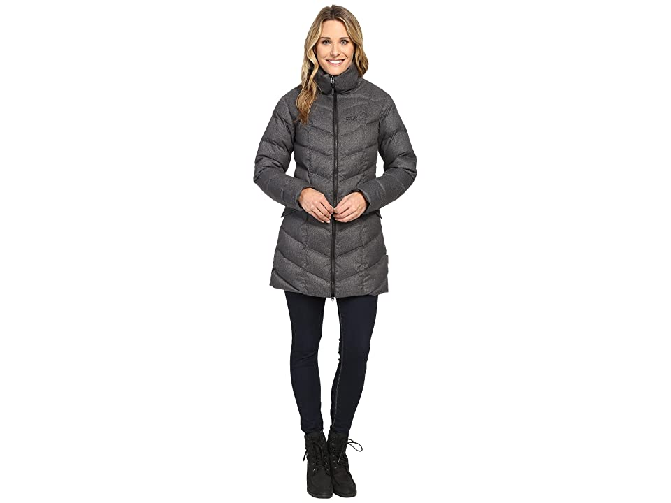 Jack Wolfskin Baffin Bay Coat (Black) Women