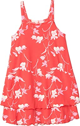 Candy Apple Red Floral