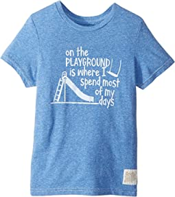 On The Playground Vintage Tri-Blend Tee (Little Kids/Big Kids)