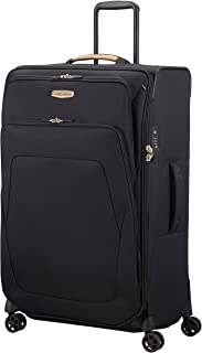 Samsonite 115762/L470 Spark Eco Softside Spinner Suitcase, Recycled Fabric, 79cm, Eco Black