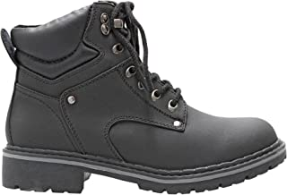 Forever Women's Ankle High Combat Hiking Boots