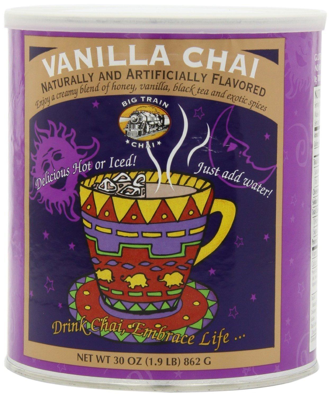 Big Train Chai Tea Vanilla can 1.9 each pound Over item handling ☆ In stock 2