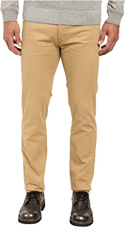 Corduroy Skinny Fit Five-Pocket Jeans in Honey