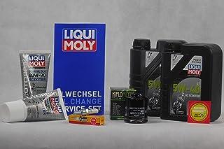 Onderhoudsset geschikt voor Piaggio Liberty GT 125 Olie bougie Service Inspectie Olieverversing
