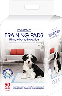 Pet Training and Puppy Pads, Posh Paws,  50-Count