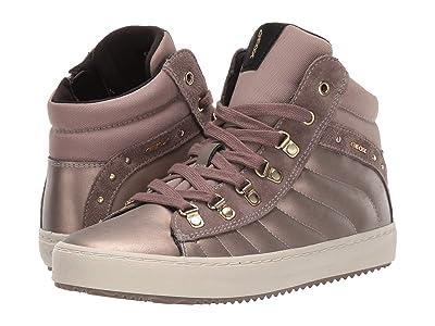 Geox Kids Jr Kalispera 22 (Big Kid) (Dark Gold) Girls Shoes