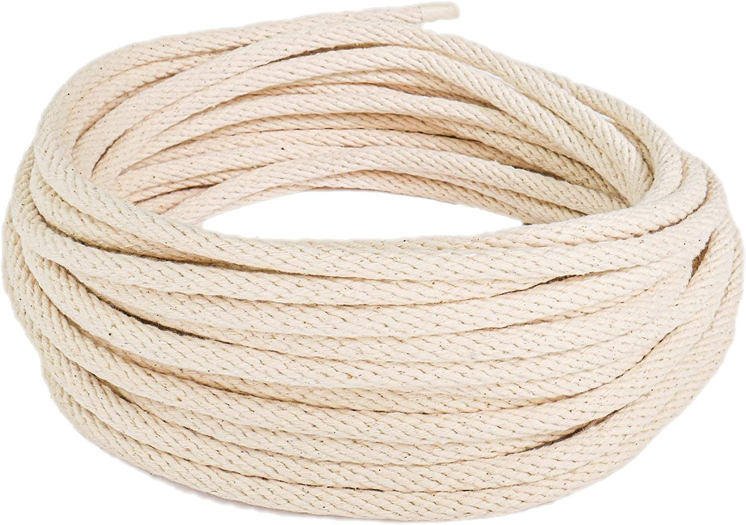 and Decorative Purposes All Purpose Rope for Window Sashing 3//8 x 25ft Coil, Natural SGT KNOTS Cotton Sash Cord Tying Clotheslines