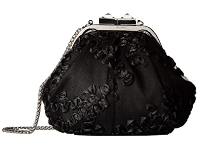 Adrianna Papell Sailor (Black) Clutch Handbags