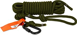 TREE SPIDER Safety Line Reflective Harness, Olive