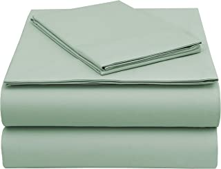 EnvioHome GOTS Certified Organic Cotton Sheet Sets (Twin, Teal)
