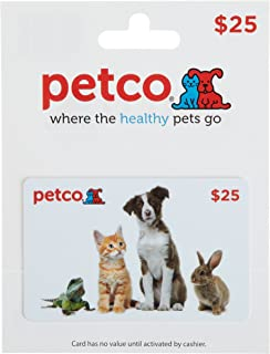 petco merchandise card