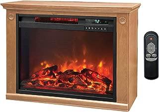 Lifesmart 3 Element Quartz Infrared Electric Portable Fireplace Space Heater