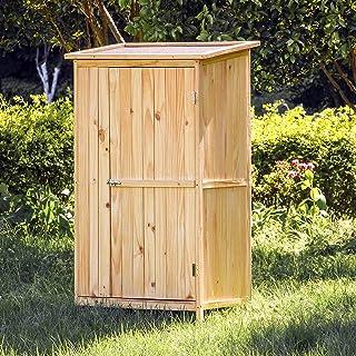 Caseta de jardín 1 Puerta Caseta para herramientas y aperos