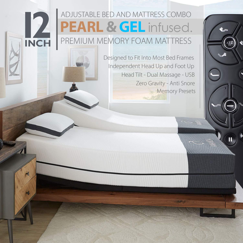 Infused Mattress Premium Adjustable Anti Snore