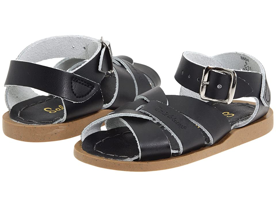 Salt Water Sandal by Hoy Shoes The Original Sandal (Infant/Toddler) (Black) Kids Shoes