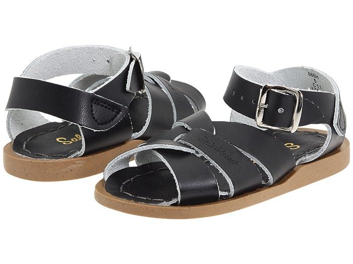 Salt Water Sandal by Hoy Shoes  The Original Sandal (Infant/Toddler) (Black) Kids Shoes