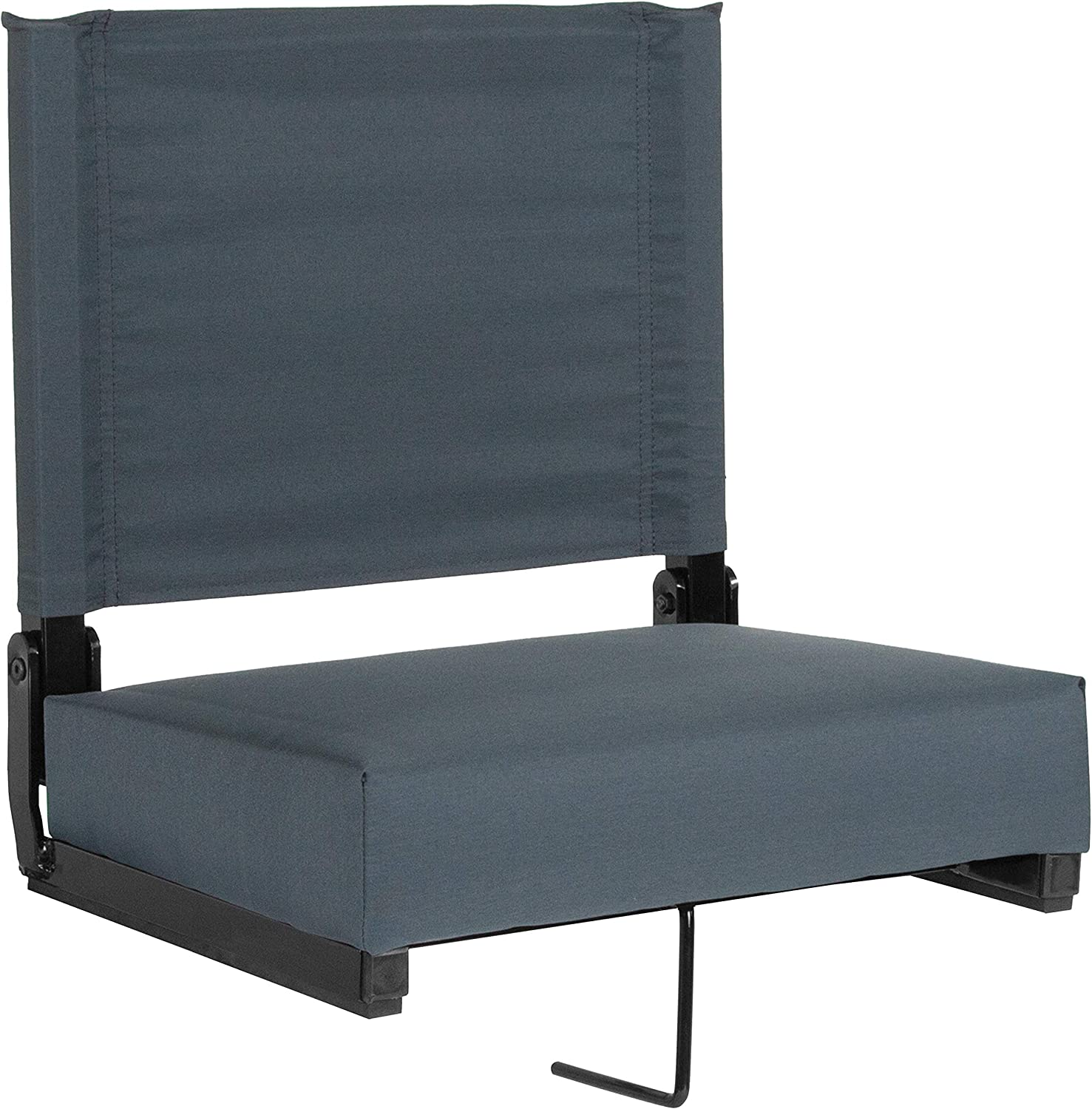 Flash Furniture Grandstand Comfort Seats by Flash with UltraPadded Seat in Dark bluee