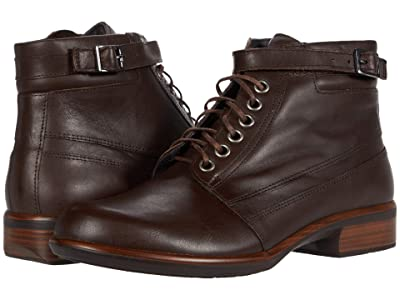 Naot Kona (Brown Water Resistant Leather) Women
