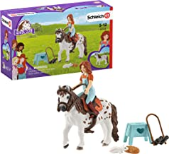 SCHLEICH 42518 Horse Club Mia & Spotty Spielset, Mehrfarbig