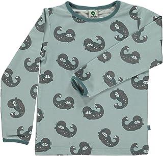Småfolk Langarm T-Shirt Robbe mit Robben Babys 74