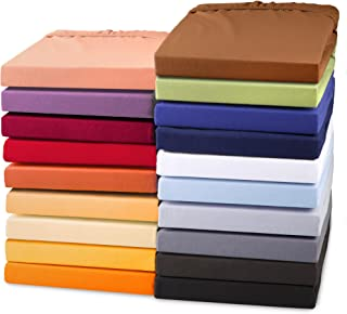 aqua-textil Exclusiv Drap-Housse, lit sommier tapissier, lit à Eau, Coton, élasthanne 200x220-220x240 cm Gris foncé