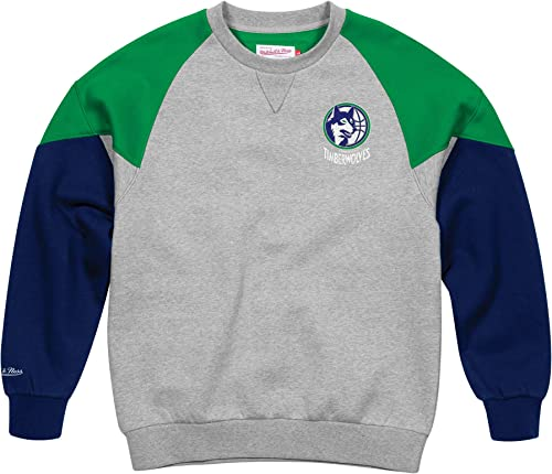 Mitchell and Ness Timberwolves T-Shirt col Ras du Cou Coton Homme