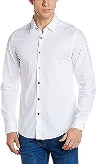 Flying Machine Men's Solid Slim Fit Formal Shirt