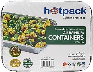Hot pack Almunium Containers