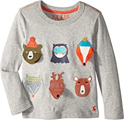 Applique Jersey Top (Toddler/Little Kids)