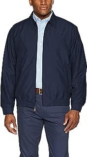 Men's Classic Fit Full-Zip Microfiber Jacket