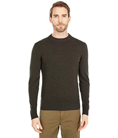 Fjallraven Ovik Round-Neck Sweater (Dark Olive) Men