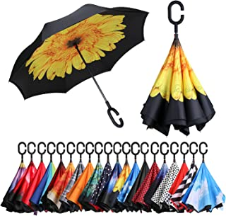 senz original stormproof uv stick umbrella
